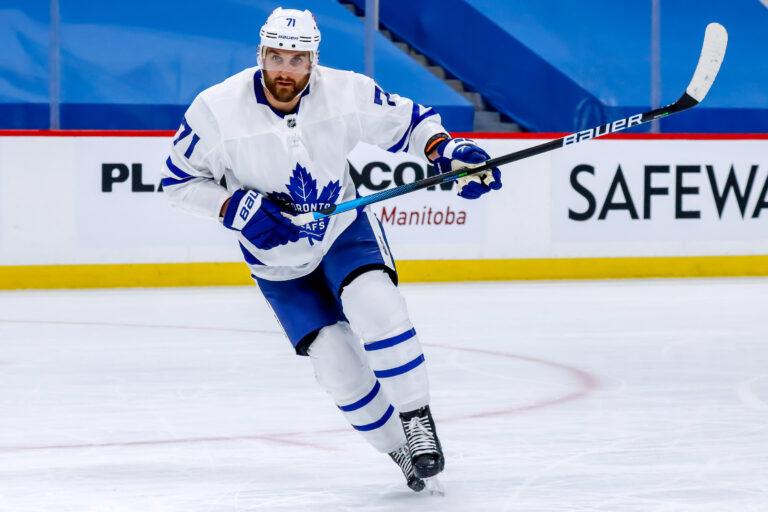 Nick Foligno Toronto Maple Leafs