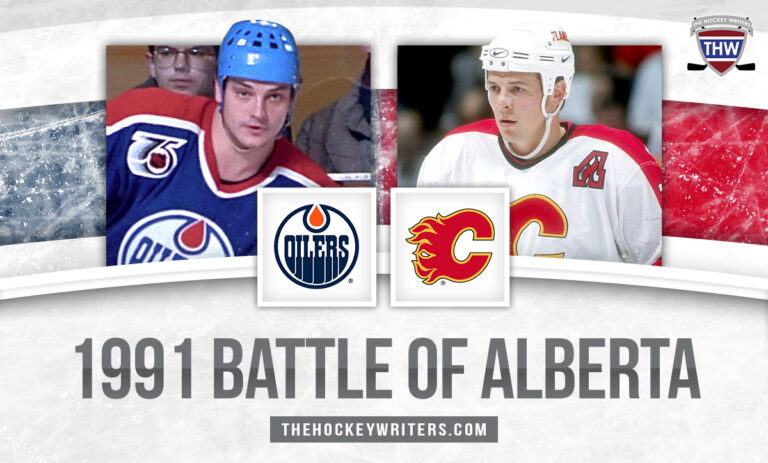 Theo Fleury and Esa Tikkanen 30 Years Later: The 1991 Battle of Alberta 30 Years Later