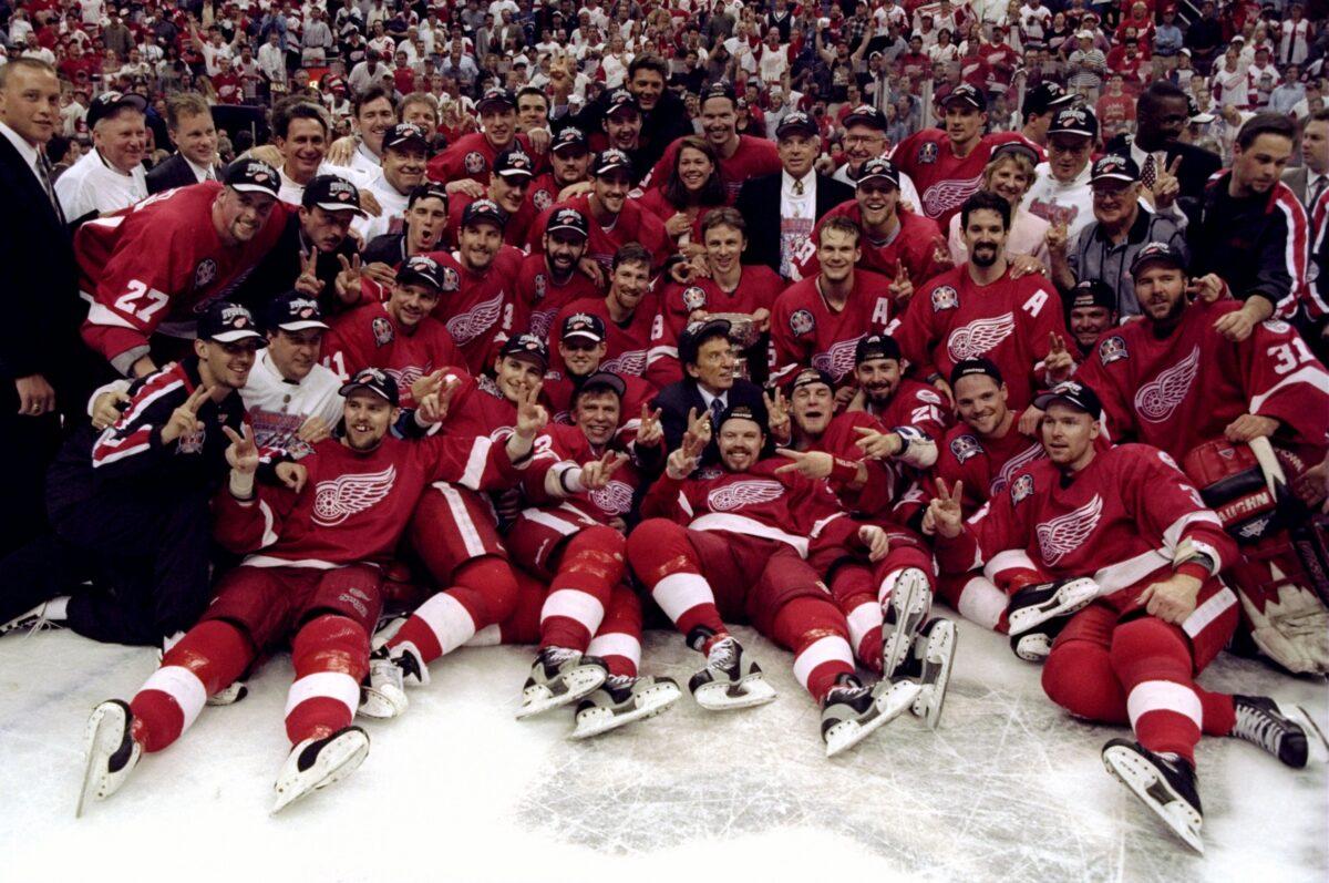 Detroit Red Wings 1998 Stanley Cup