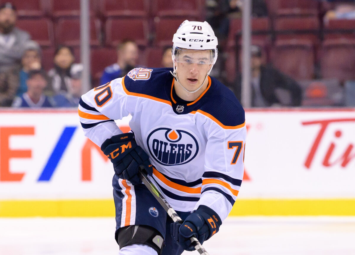 Ryan McLeod Edmonton Oilers