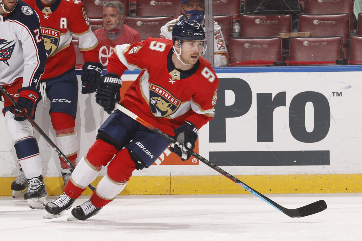 Sam Bennett Florida Panthers