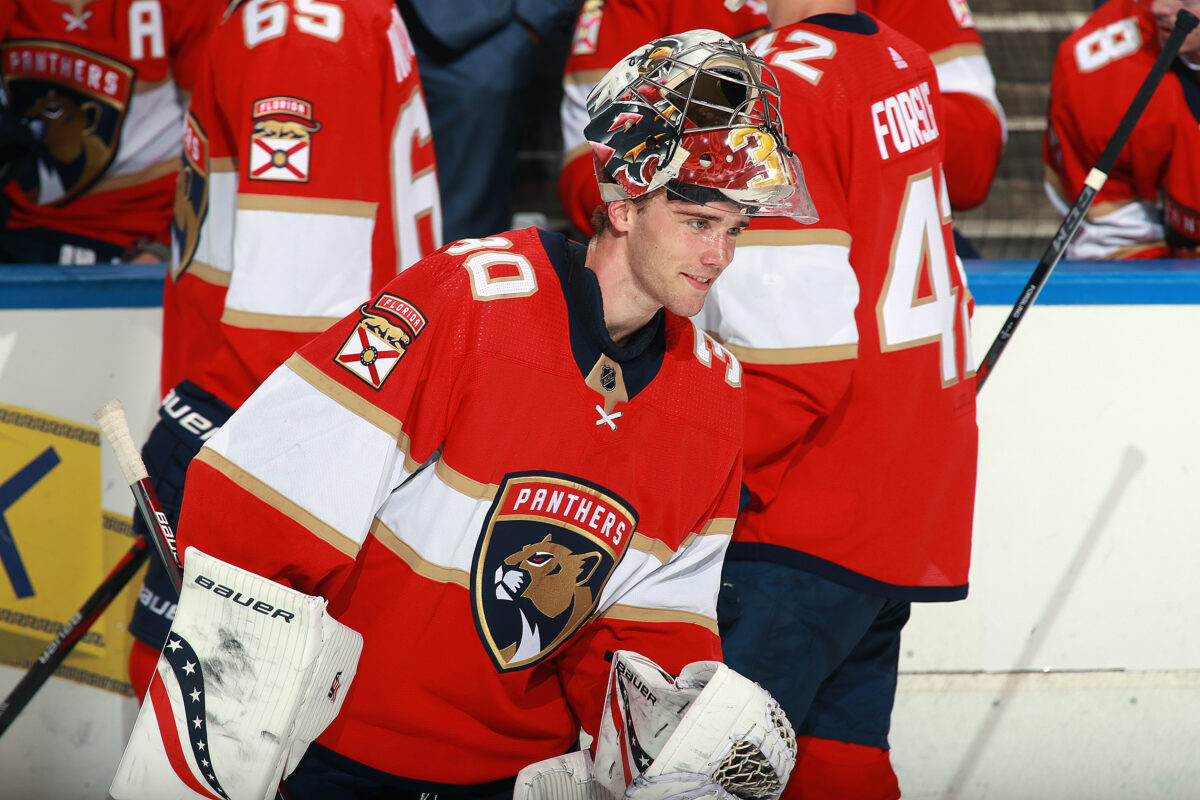 Spencer Knight Florida Panthers