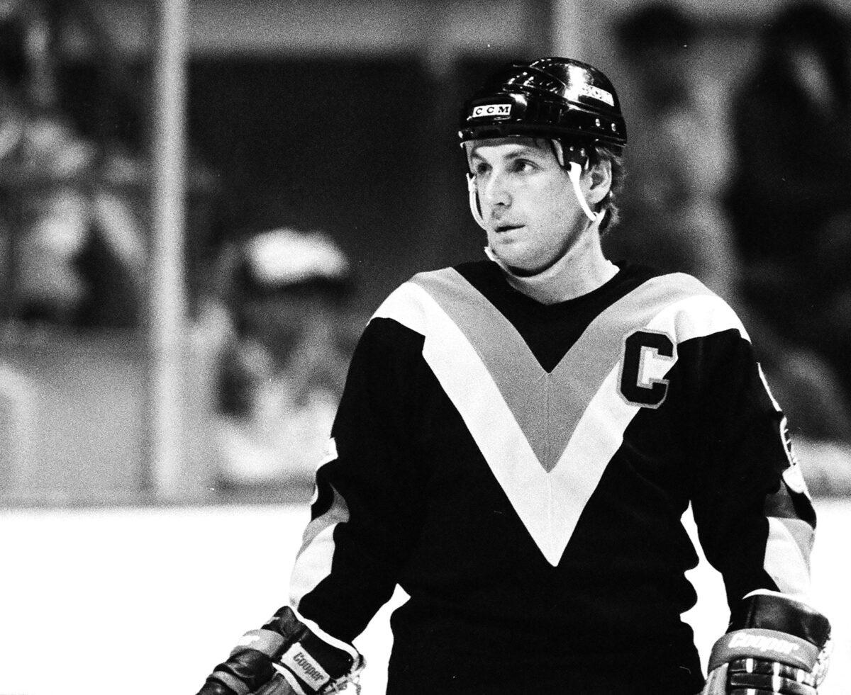 Stan Smyl Vancouver Canucks