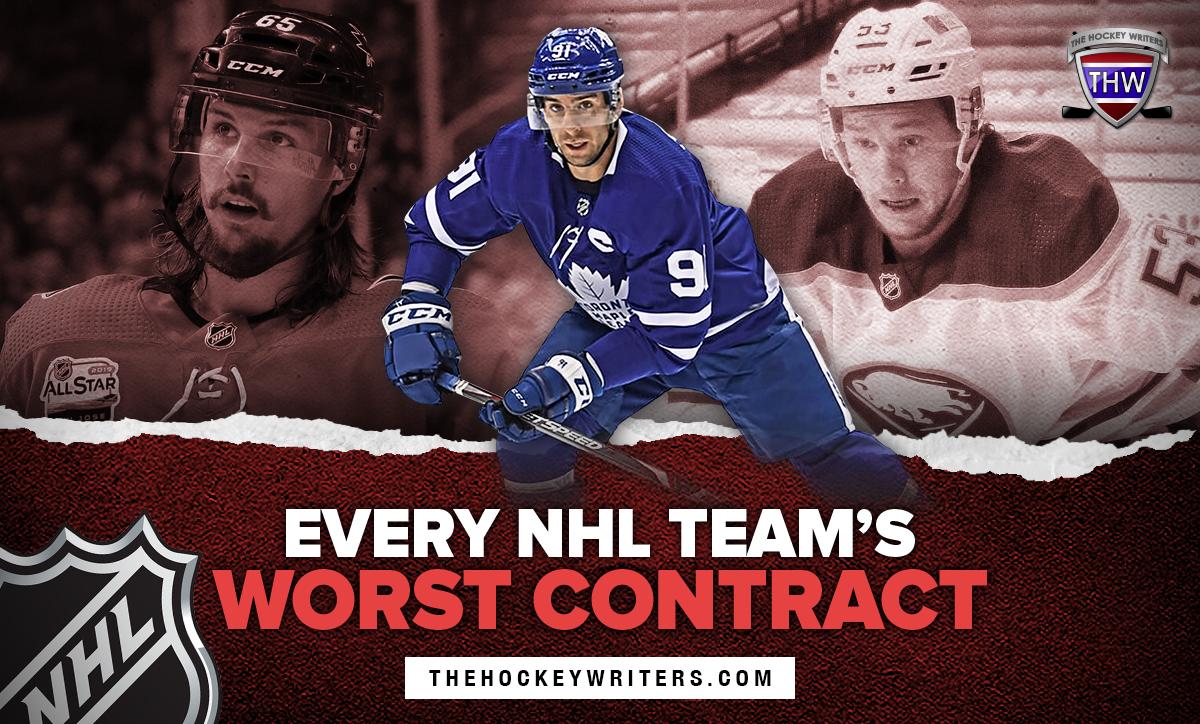 Every NHL Team's worst contract Erik Karlsson, John Tavares, and Jeff Skinner