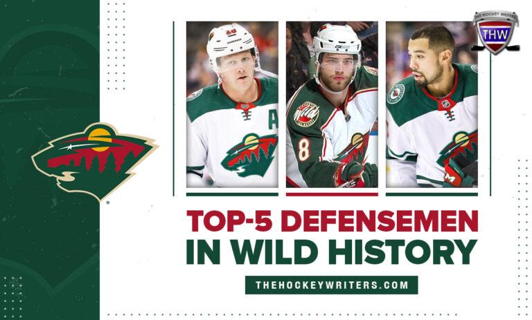 Top-5 defensemen in Minnesota Wild history Brent Burns, Matt Dumba, Ryan Suter