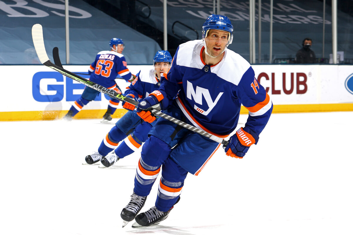 Travis Zajac New York Islanders