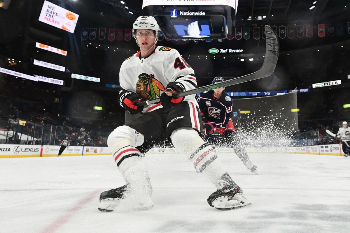 Wyatt Kalynuk Chicago Blackhawks