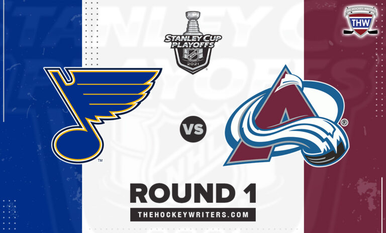 2021 Stanley Cup Playoffs Round 1 Colorado Avalanche St. Louis Blues