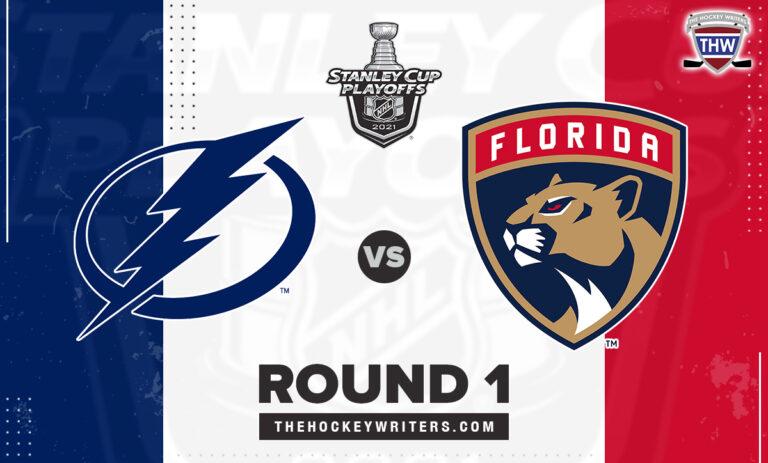 2021 Stanley Cup Playoffs Round 1 Florida Panthers Tampa Bay Lightning