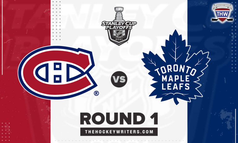 2021 Stanley Cup Playoffs Round 1 Montreal Canadiens Toronto Maple Leafs