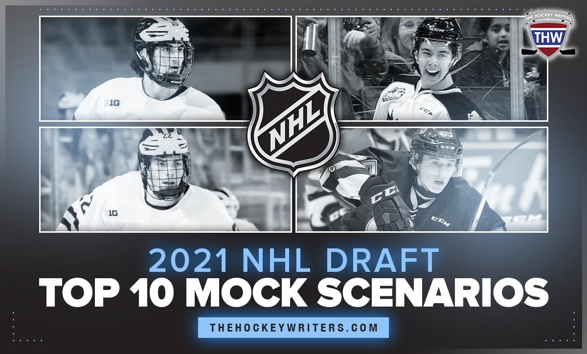 2021 NHL Draft Top 10 Mock Scenarios Matt Beniers, Dylan Guenther, Owen Power and Brandt Clarke