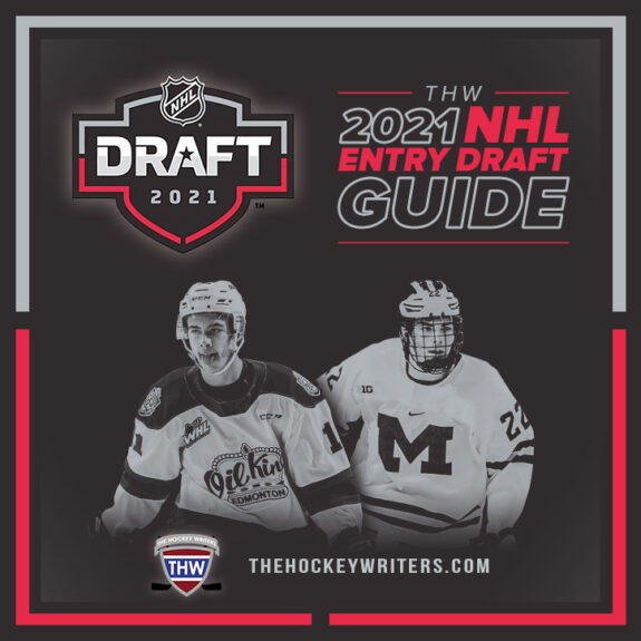 The Hockey Writers 2021 NHL Entry Draft Guide Square
