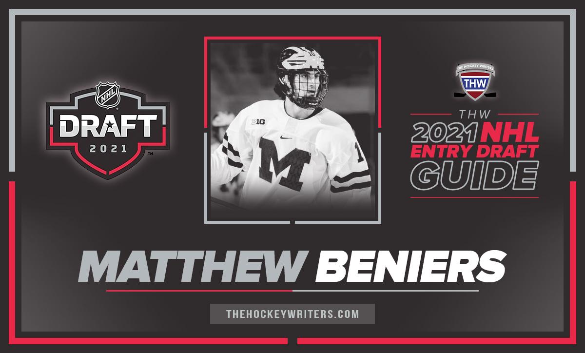 The Hockey Writers 2021 NHL Entry Draft Guide Matthew Beniers