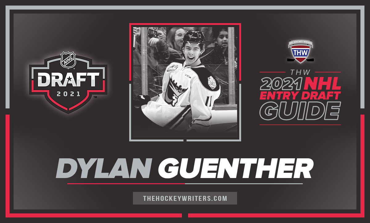 Dylan Guenther The Hockey Writers 2021 NHL Entry Draft Guide