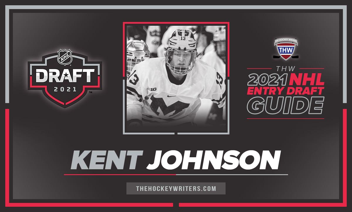 The Hockey Writers 2021 NHL Entry Draft Guide Kent Johnson