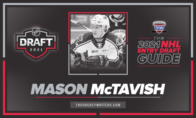 The Hockey Writers 2021 NHL Entry Draft Guide Mason McTavish