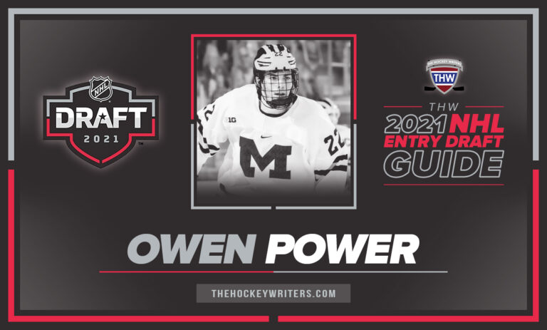 The Hockey Writers 2021 NHL Entry Draft Guide Player Profile Owen Power