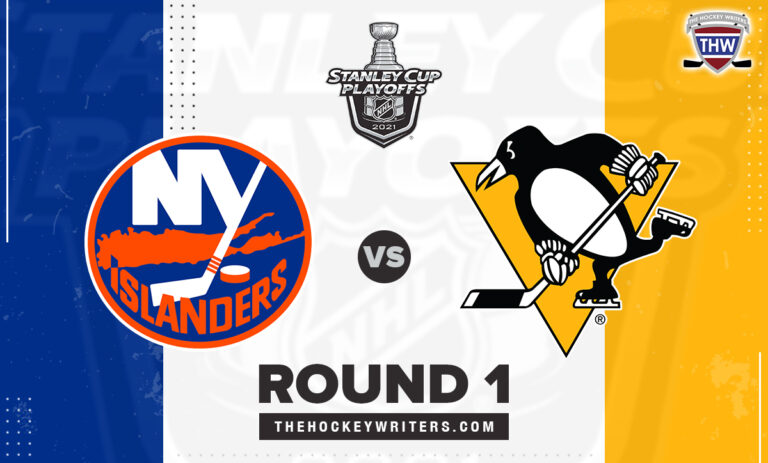 2021 Stanley Cup Playoffs Round 1 New York Islanders Pittsburgh Penguins