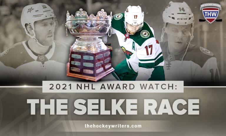 2021 NHL Award Watch: The Selke Race; Marcus Foligno, Joe Pavelski & Joel Eriksson Ek