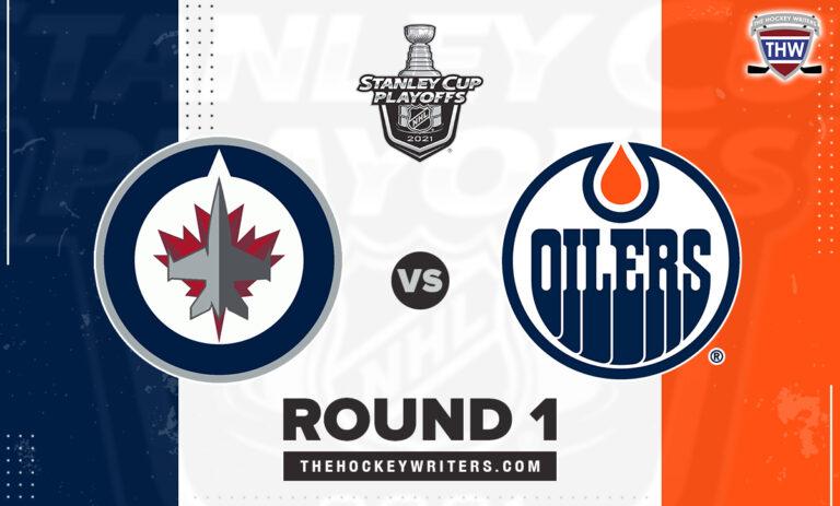 2021 Stanley Cup Playoffs Round 1 Winnipeg Jets Edmonton Oilers