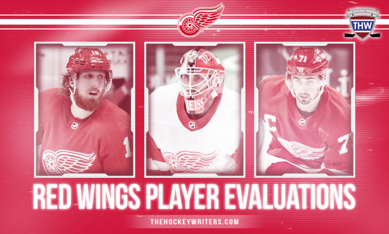 Detroit Red Wings Player Evaluations Dylan Larkin, Marc Staal, Thomas Greiss