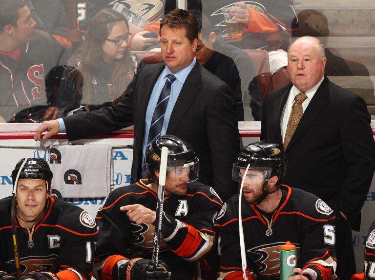 Anaheim Ducks Bruce Boudreau Brad Lauer