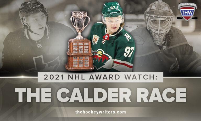 2021 NHL Award Watch: The Calder Race Kaprizov, Robertson & Nedelkovic