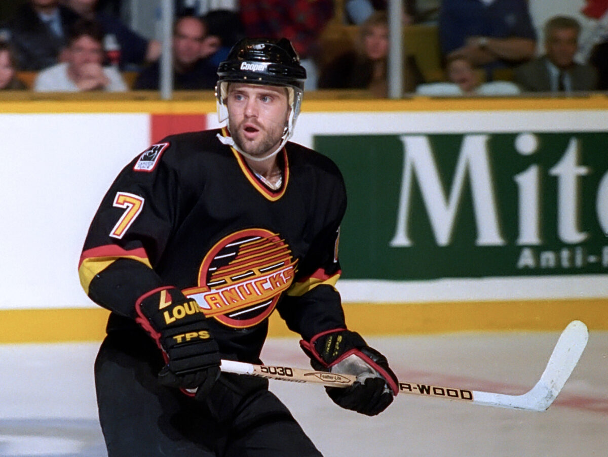 Cliff Ronning Vancouver Canucks