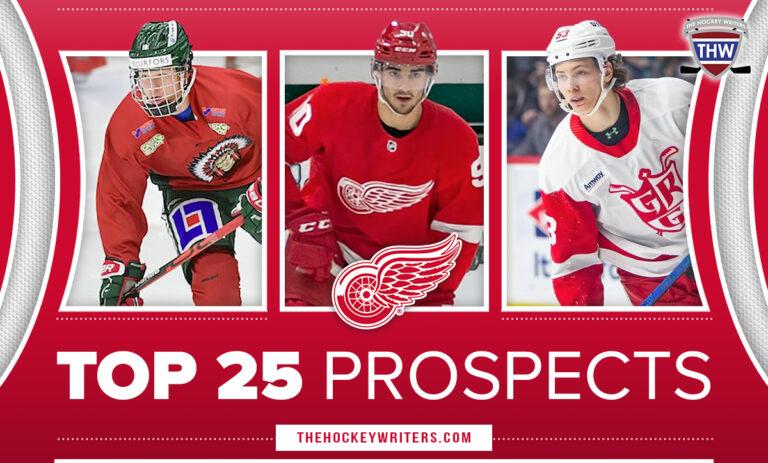Detroit Red Wings Top 25 Prospects Moritz Seider, Lucas Raymond, and Joe Veleno