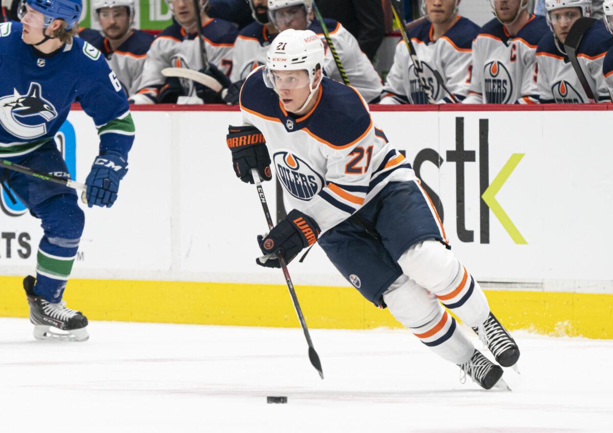 Dominik Kahun Edmonton Oilers