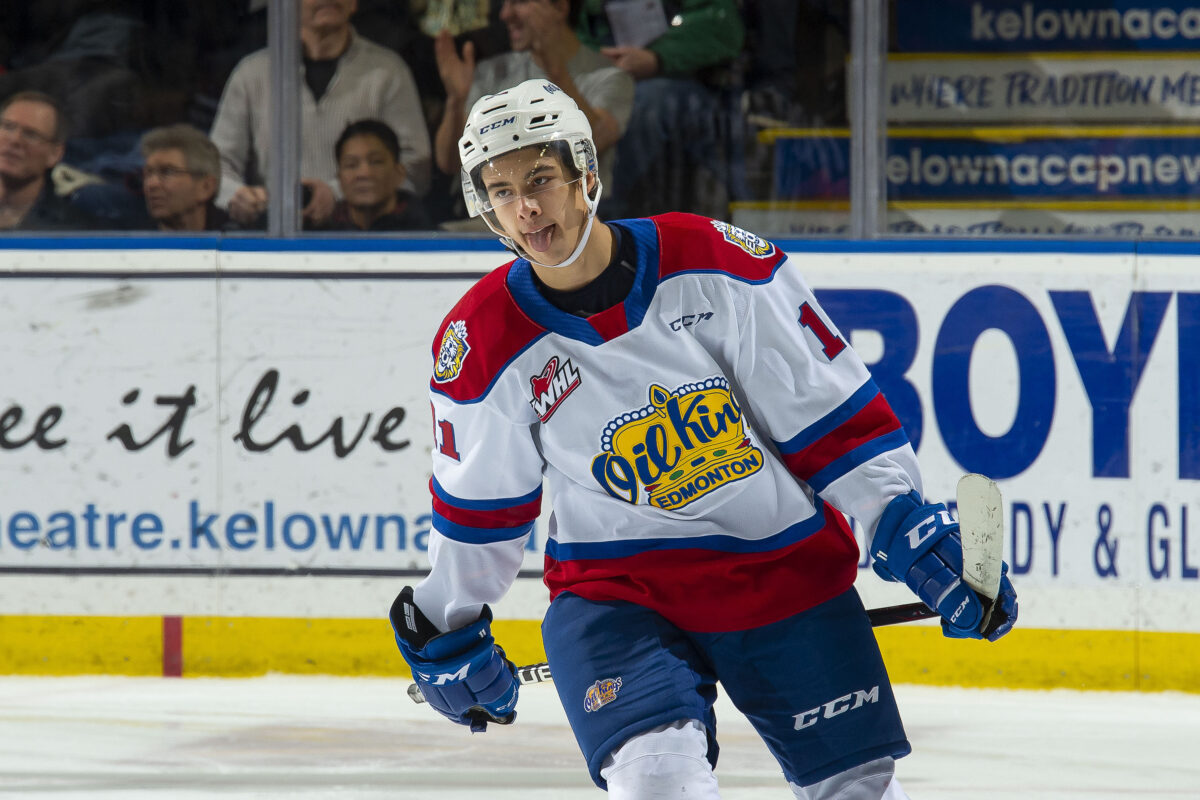 Dylan Guenther Edmonton Oil Kings