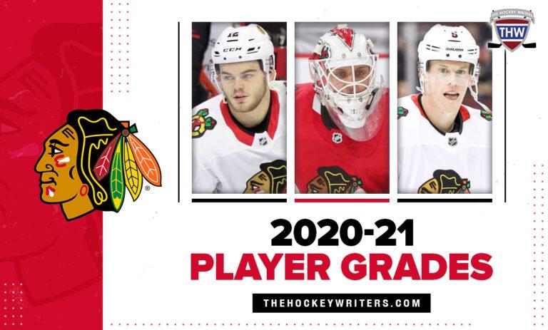 Chicago Blackhawks 2020-21 Player Grades Alex DeBrincat, Connor Murphy, and Kevin Lankinen