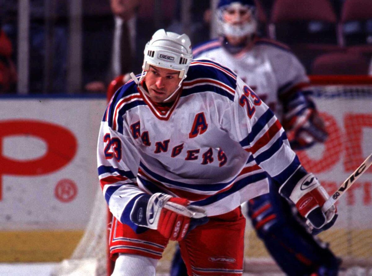 Jeff Beukeboom New York Rangers