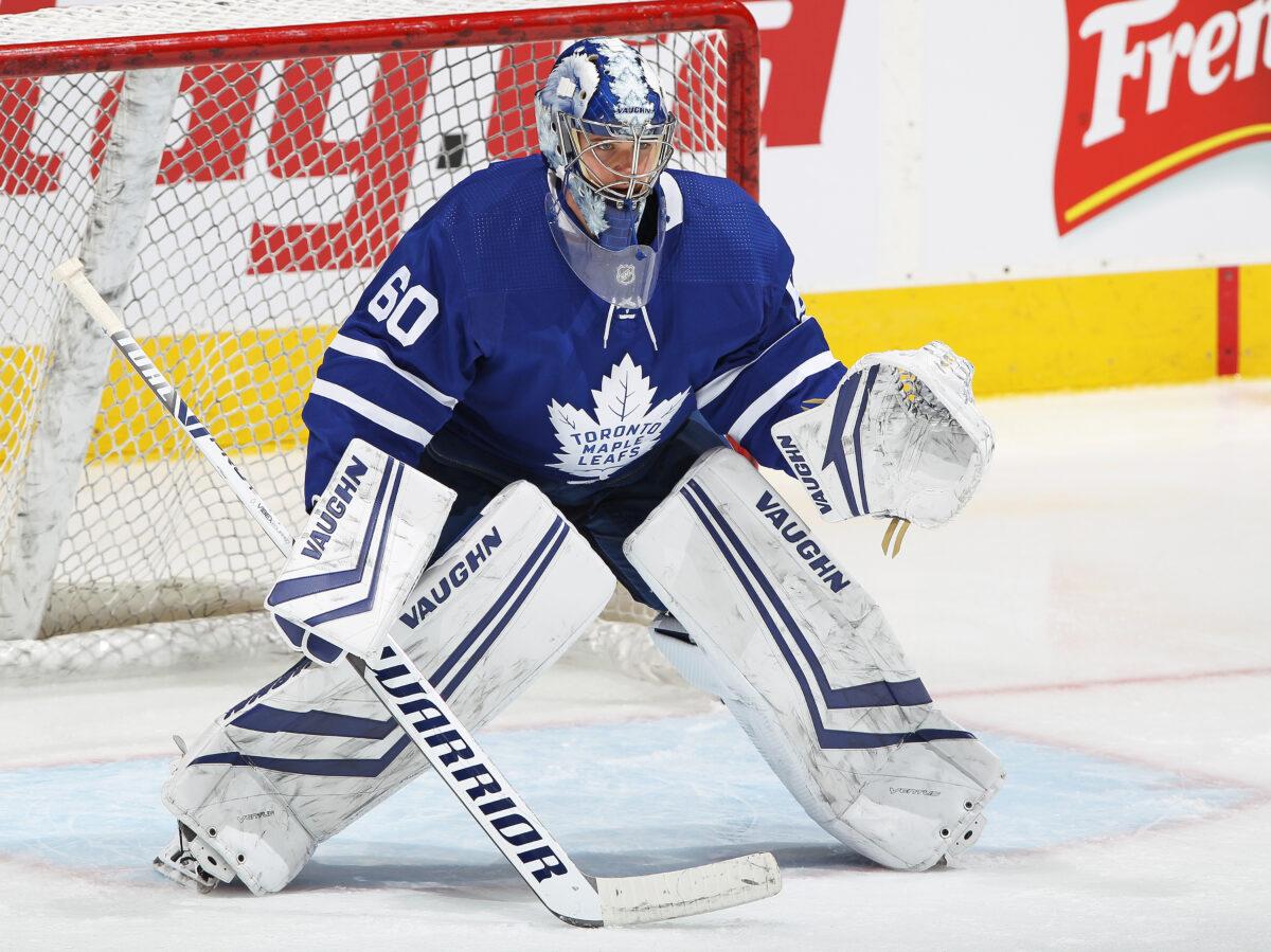 Joseph Woll Toronto Maple Leafs