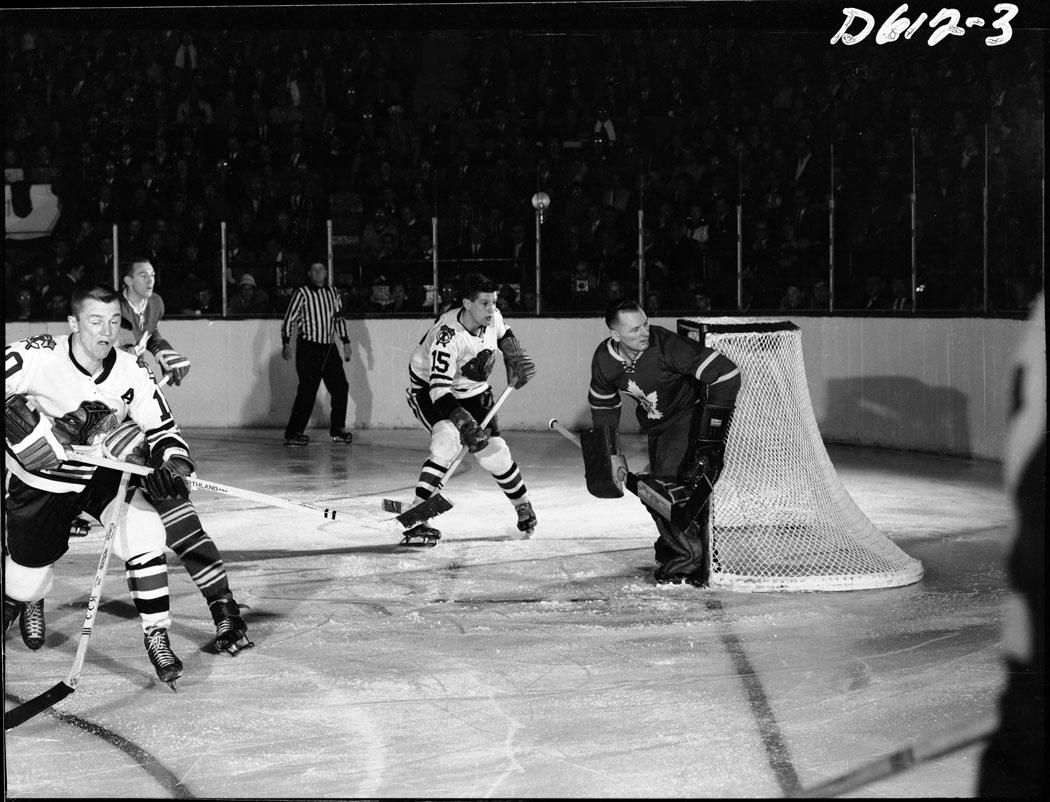 NHL 1960s Toronto Maple Leafs Chicago Black Hawks
