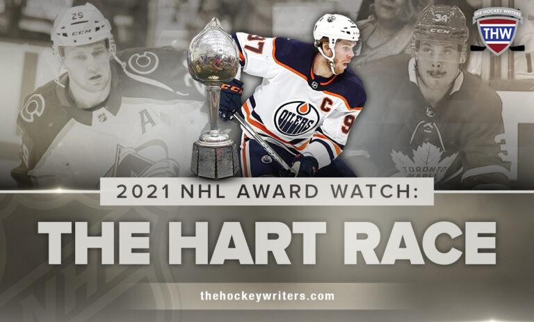 2021 NHL Award Watch: The Hart Race Connor Mcdavid, Auston Matthews & Nathan MacKinnon