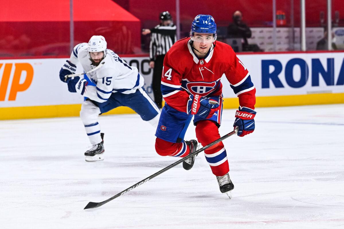 Nick Suzuki Montreal Canadiens