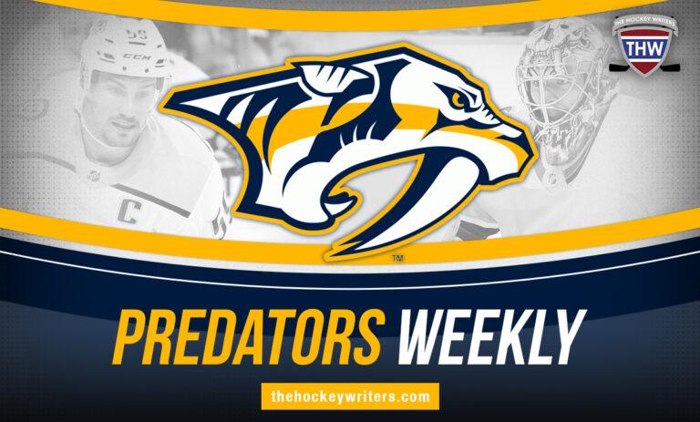 Nashville Predators Weekly Roman Josi, Jusse Saros