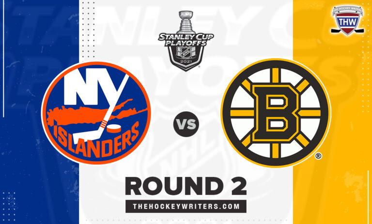2021 Stanley Cup Round 2 New York Islanders Boston Bruins