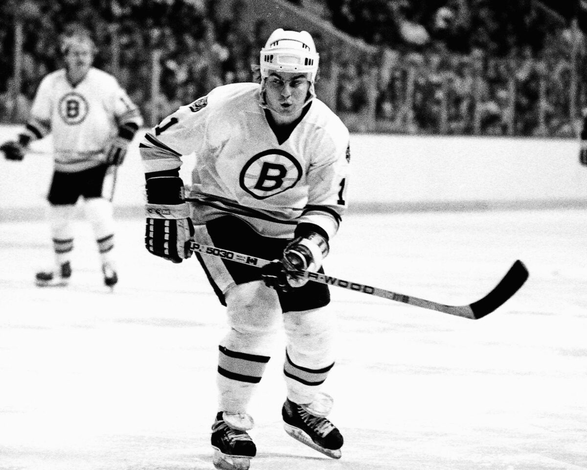 Steve Kasper Boston Bruins