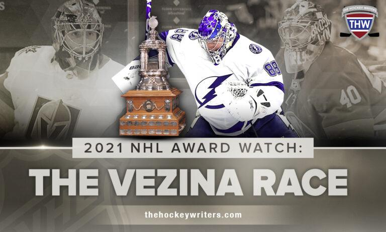 2021 NHL Award Watch: The Vezina Race Vasilevskiy, Fleury & Varlamov