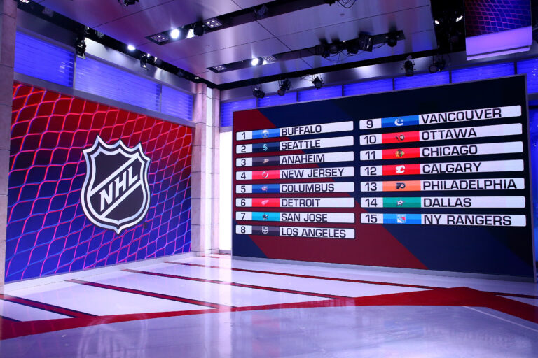 2021 NHL Draft Lottery results
