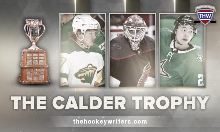 The Calder Trophy: Robertson, Kaprizov, Nedeljkovic