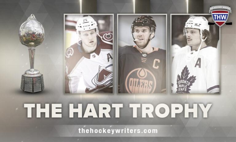 The Hart Trophy: Auston Matthews, Connor McDavid, Nathan MacKinnon