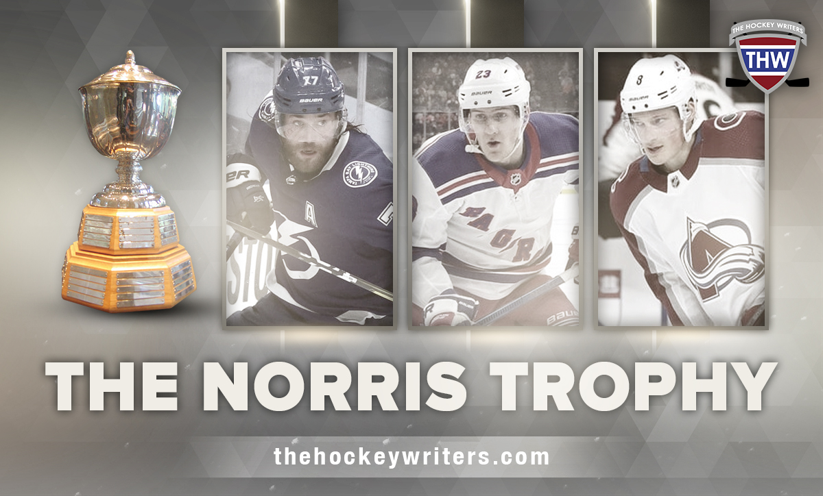 The Norris Trophy: Cale Makar, Victor Hedman, Adam Fox