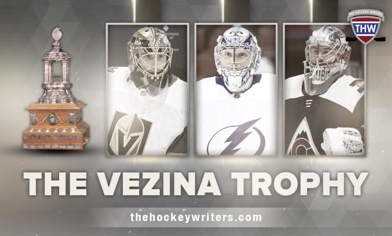 The Vezina Trophy: Marc Andre Fleury, Philip Grubauer, Vasilevskiy