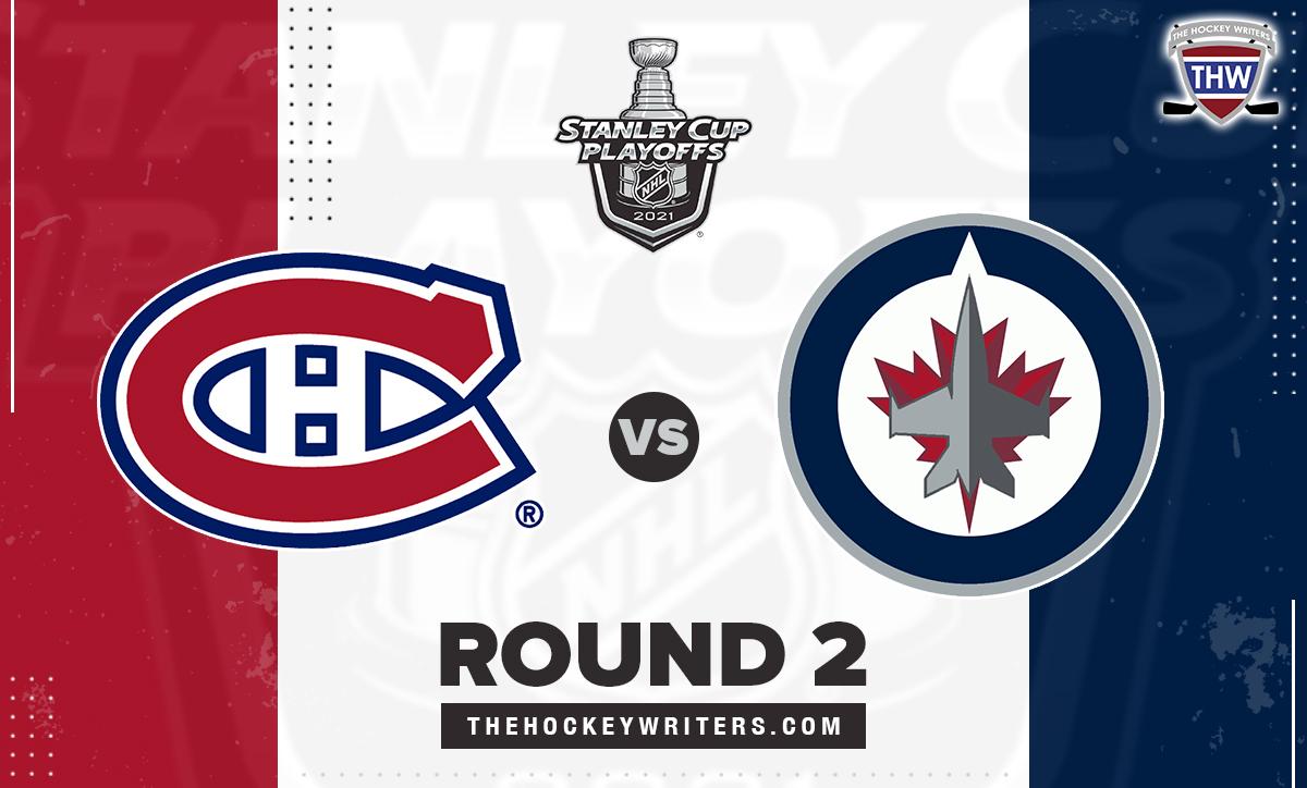 2021 Stanley Cup Playoffs Round 2 Montreal Canadiens Winnipeg Jets