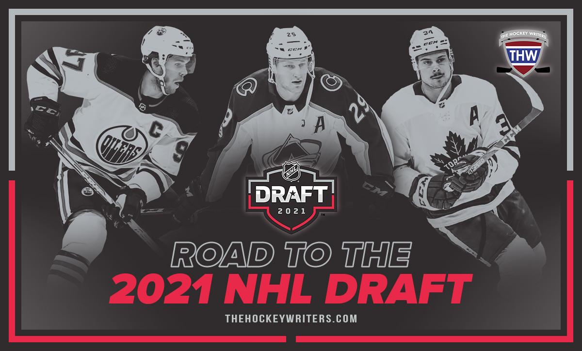 The Hockey Writers 2021 Road to the NHL Entry Draft Connor McDavid Nathan MacKinnon Auston Matthews