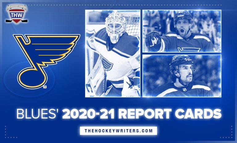 St. Louis Blues' 2020-21 Report Cards Justin Faulk, Jordan Binnington, David Perron