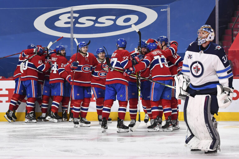 Winnipeg Jets Montreal Canadiens Game Four